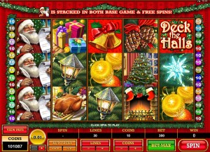 Deck the Halls Automatenspiel