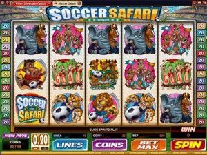 Soccer Safari als Flash Version spielen