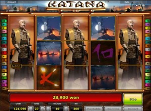 katana automatenspiel