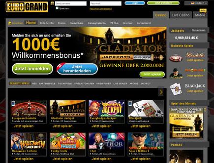 Casino Eurogrand Auszahlung