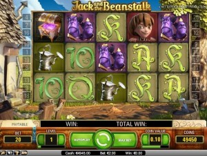 jack and the beanstalk automatenspiel