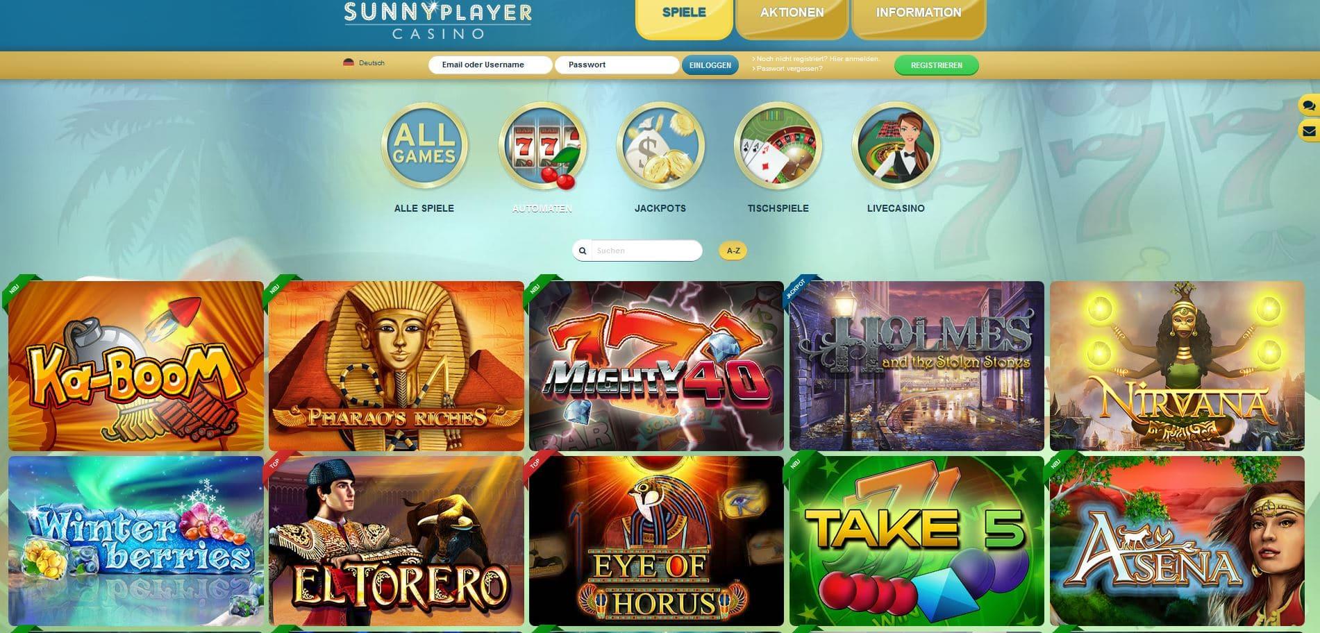 sunnyplayer-casino-spiele