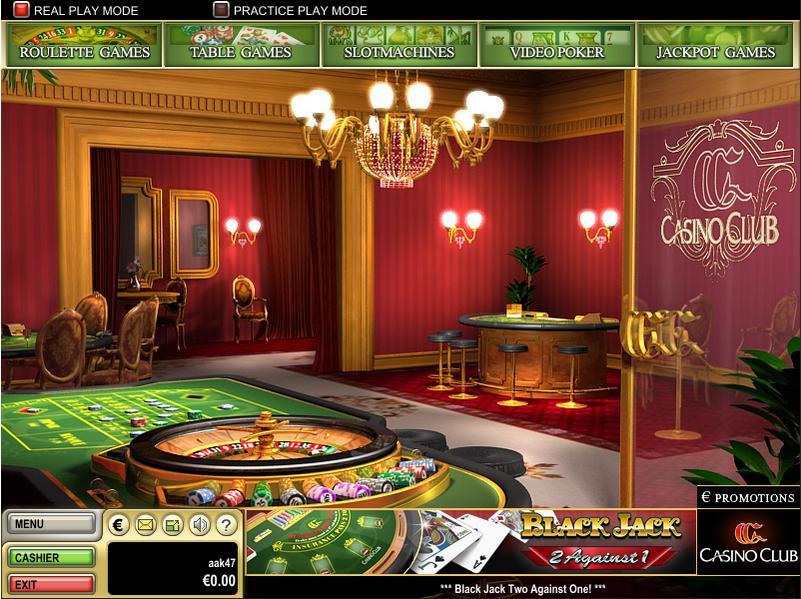 Casinoclub Tischlimit