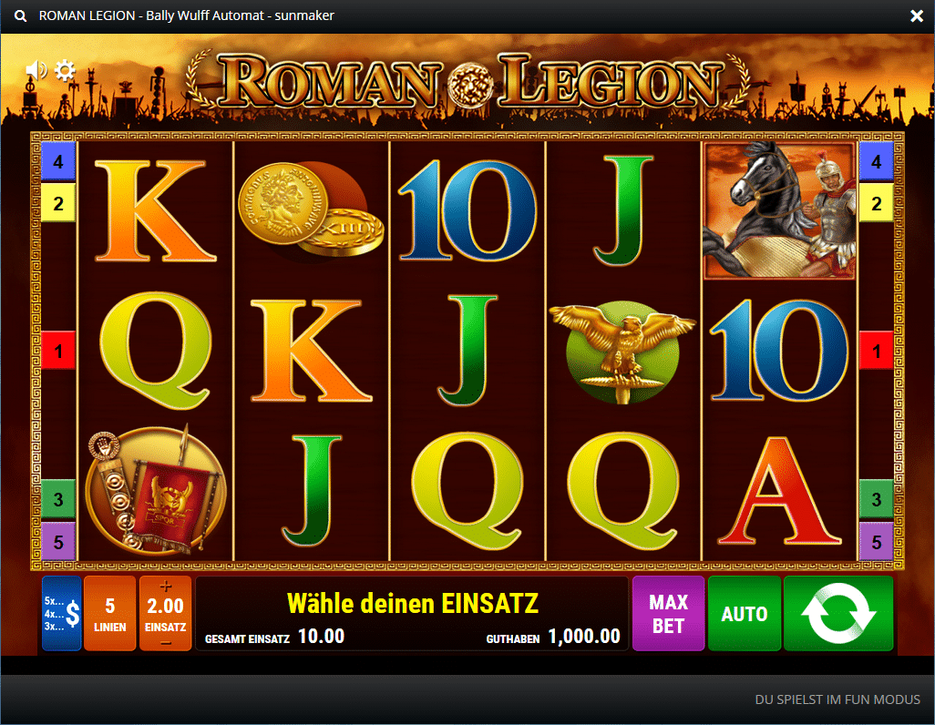 Spiele Roman Tribune - Video Slots Online