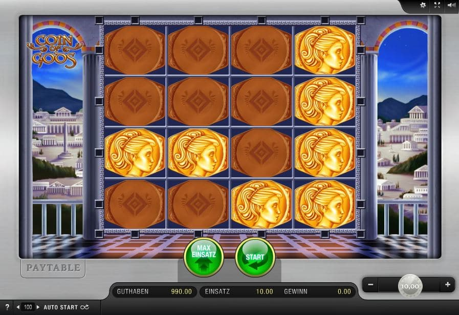 Coin of Gods Automatenspiel