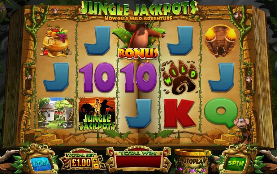Jungle Jackpots Automatenspiel