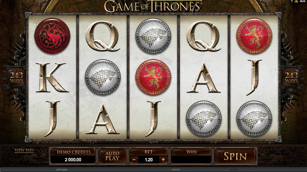 Game of Thrones Spielcasino Online