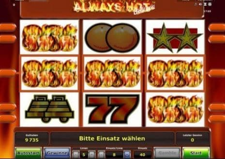 Always Hot Deluxe Spielcasino Online