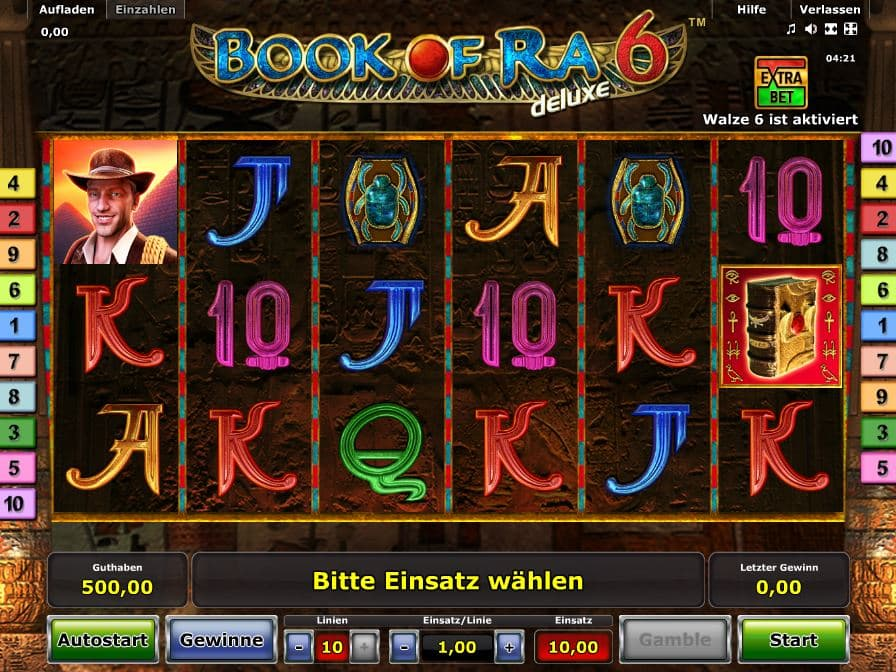 Book Of Ra Deluxe 6 Online