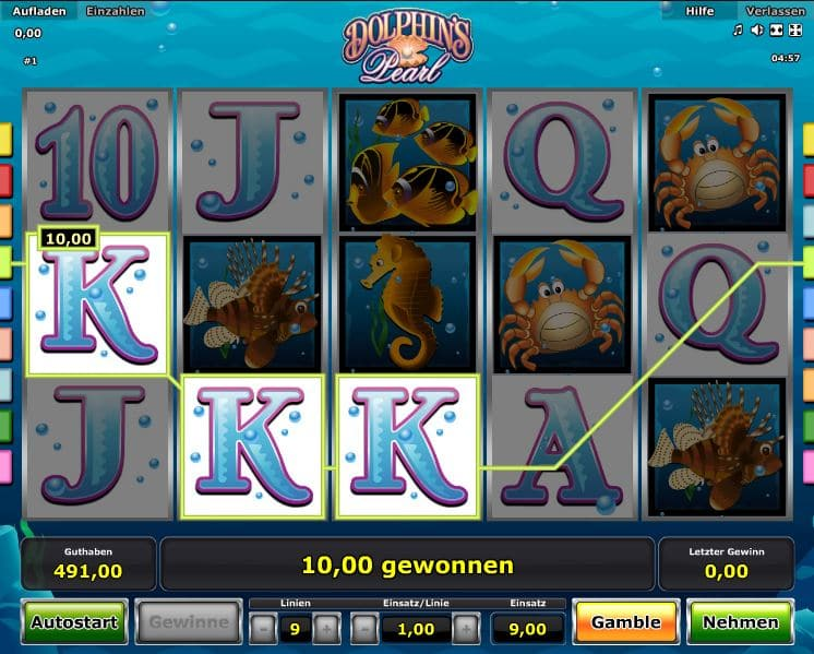 Dolphins Pearl Spielcasino Online