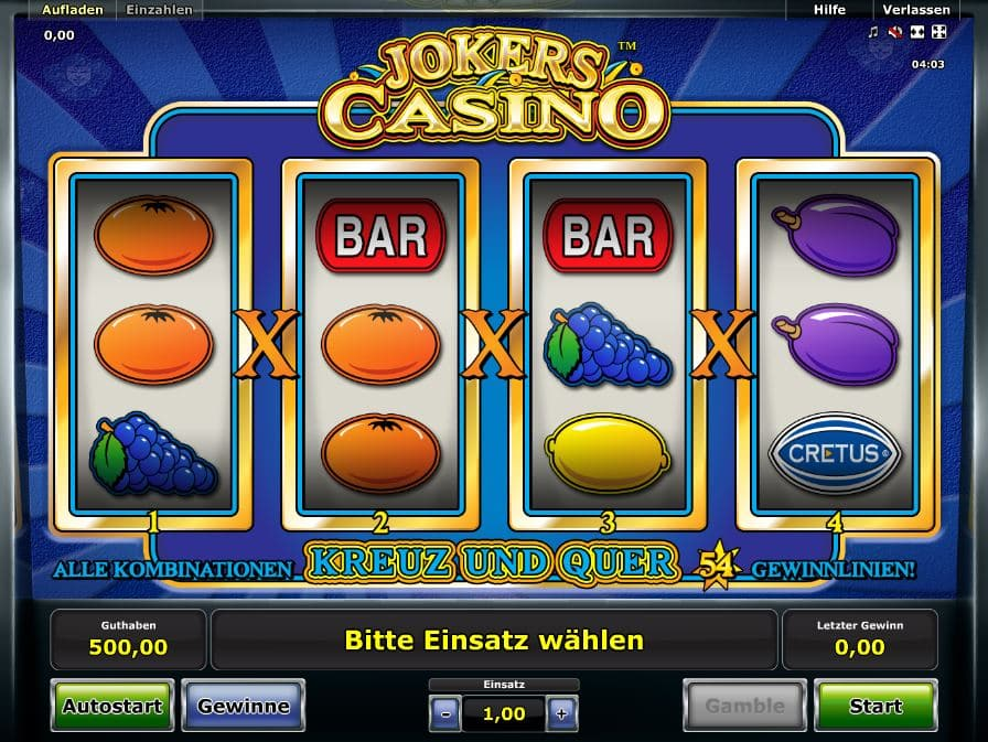 jokers casino spielen