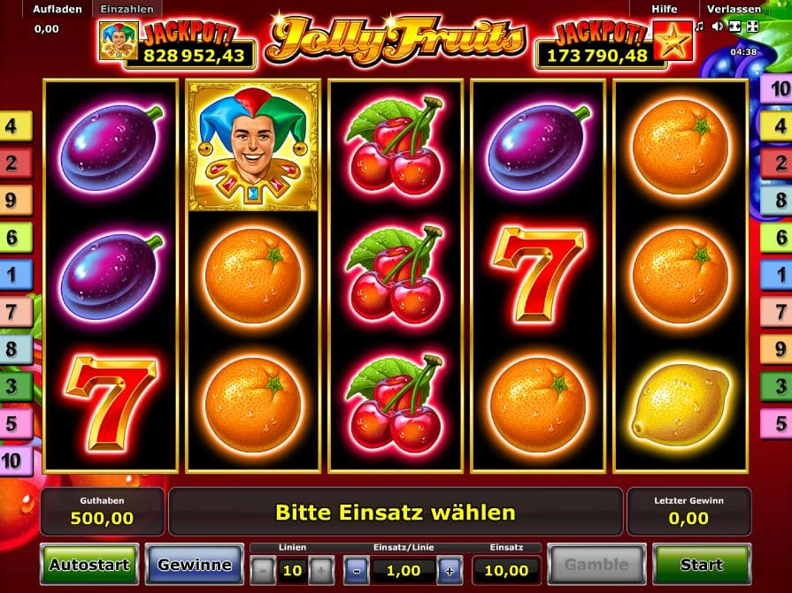 Jolly Fruits Novoline Online
