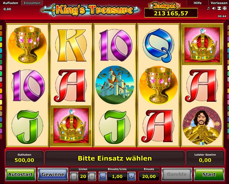 King's Treasure Spielcasino Online