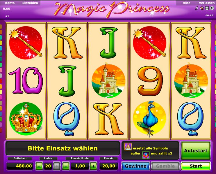 Magic Princess Spielcasino Online