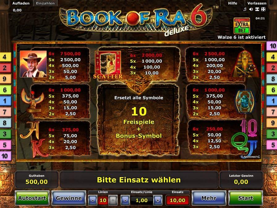 Book Of Rar Deluxe 6 Spielen
