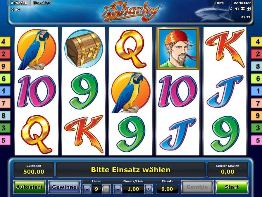 online casino gutschein sharky slot