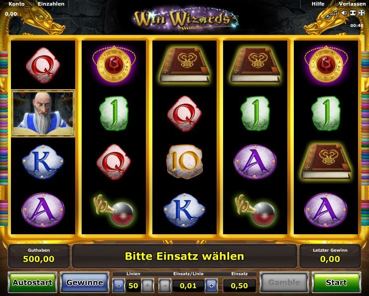online spiele casino automaten wizards win