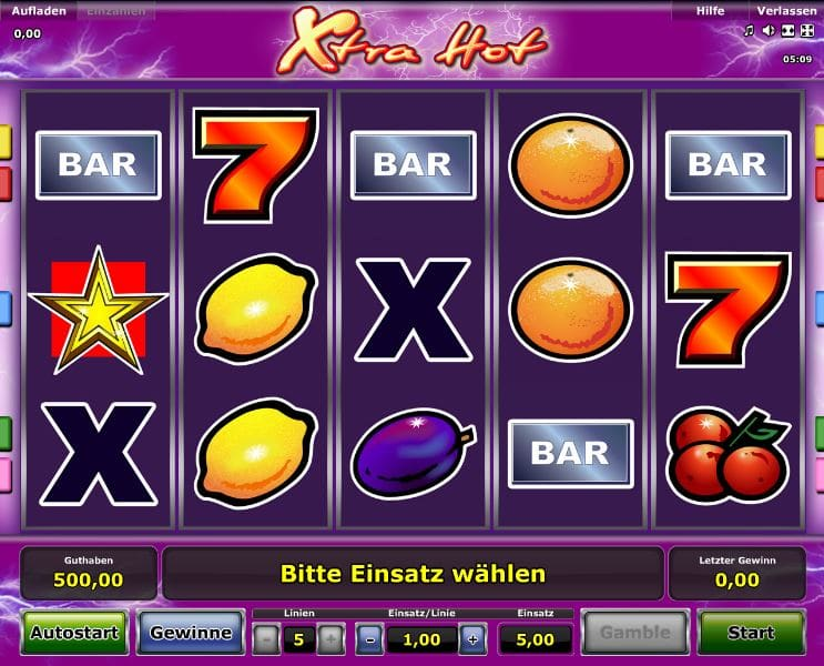 euro online casino sizlling hot