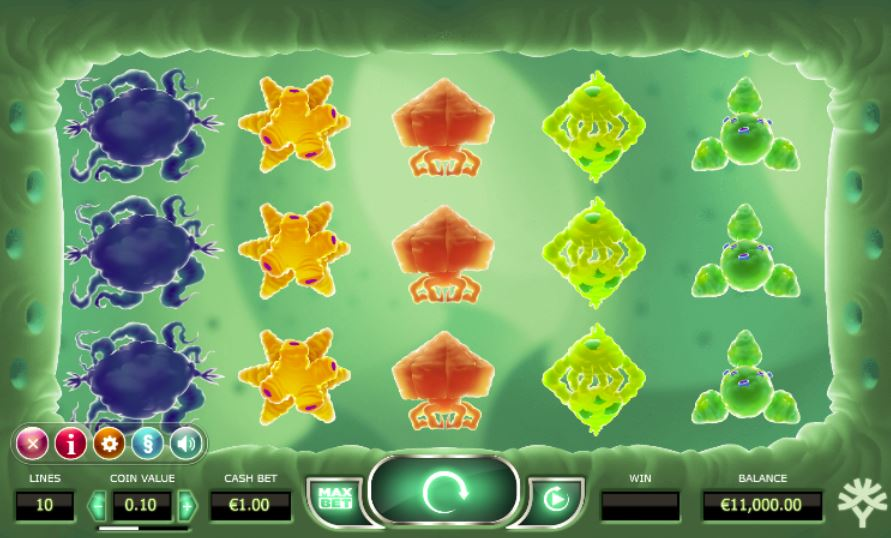 Cyrus the Virus Spielcasino Online